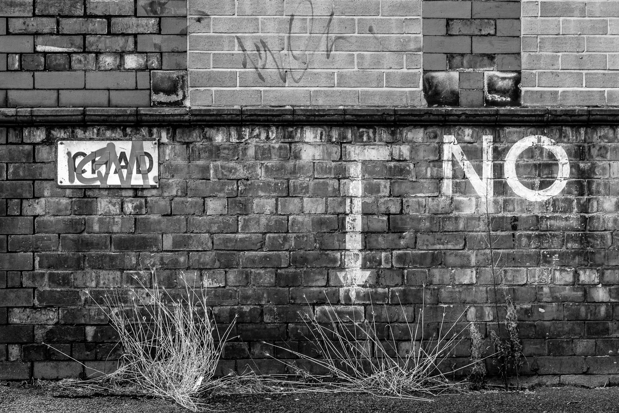 Chad. No! A study of brick walls in Manchester
